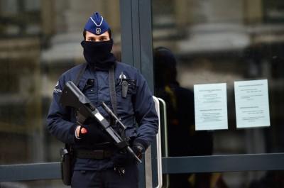 BELGIUM-ATTACKS-POLICE