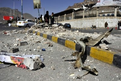 damage-left-in-sanaa-after-clash-between-houthi-rebels-and-yemen-military