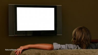 Teenager-Watching-Television-Movie-Screen-Couch