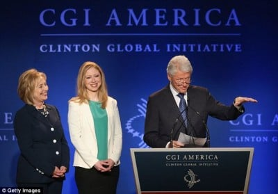Clinton Foundation Raked in Cash from Right-Wing Regimes, Corporations and Stock Markets Clinton-foundation-400x279