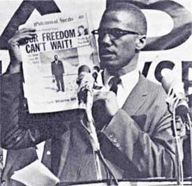how did malcolm x influence the world