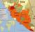 Carte Afrique ébola