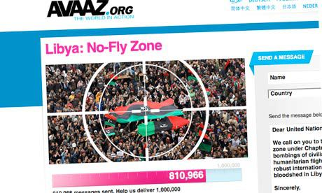 """Avaaz Call for a """"No-Fly Zone"""" in Syria: """"Human Rights Advocates"""" Once Again Beating the Drums of War"""