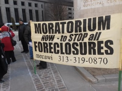 Social Crisis in Detroit: Wayne County Facing Massive Tax Foreclosure Affecting Home Owners and Small Businesses