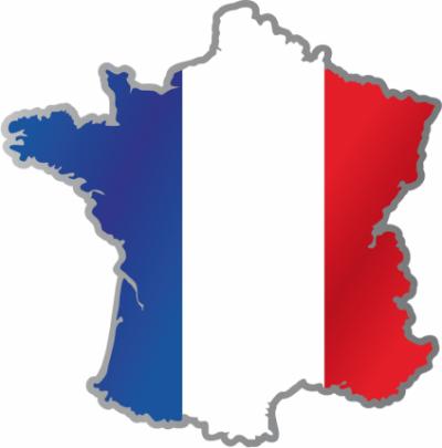 drapeau carte France 2