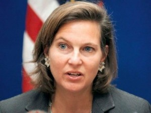 Assistant Secretary of State for European Affairs Victoria Nuland, who pushed for the Ukraine coup and helped pick the post-coup leaders.