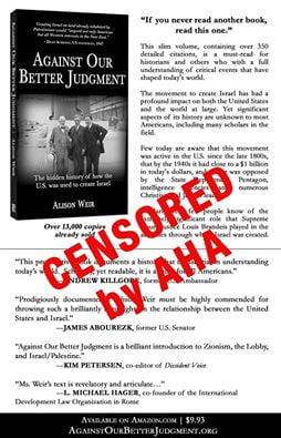 AHA-censorship