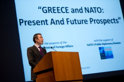 NATO Secretary General visits Greece on the occasion of the 60th anniversary of the accession of Greece to NATO