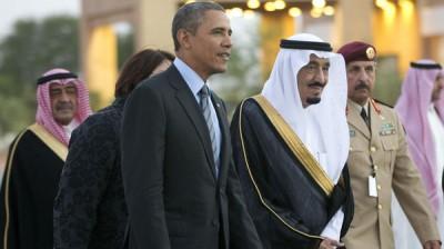 Barack Obama, Salman bin Abdulaziz Al Saud,