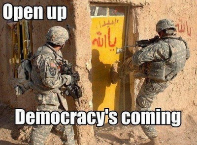 democracy's coming