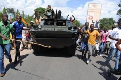 Burundi coup d'état raté