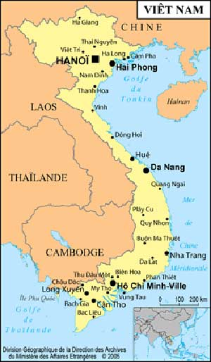 carte ter bac + Vietnam: From National Liberation to Trans Pacific Vassal (1975