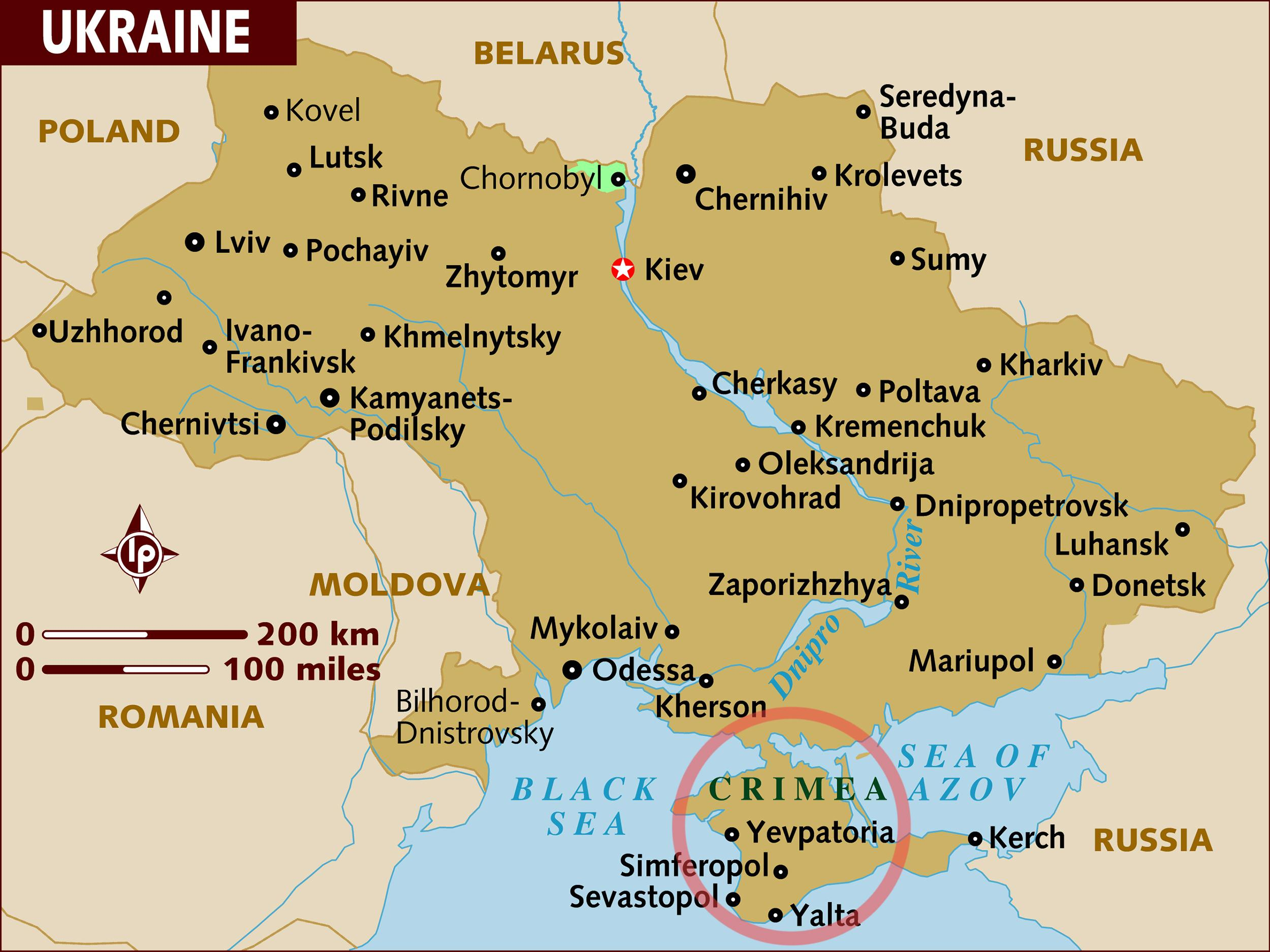 Providers in Crimea: a selection of sites