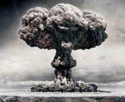 Hiroshima bombe champignon