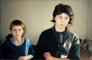 Serbian refugees from Kosovo