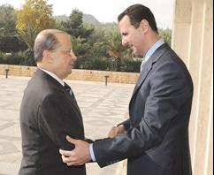 Liban:Syrie