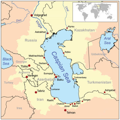 NagornoKarabakh Standoff Geopolitical Struggle in the Caspian Sea