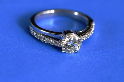 Diamond ring by Koshy Koshy (CC BY 2.0)