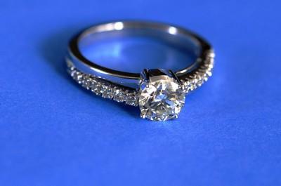 Diamond ring by Koshy Koshy (CC BY 2.0)