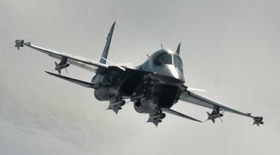 A Sukhoi-34 jet © Vladimir Astapkovich / RIA Novosti