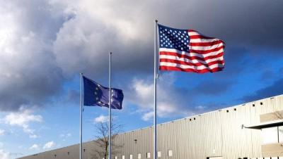 Irak et Syrie ou l'arnaque occidentale de l'EI  - Page 3 USA-UE-drapeaux-400x226