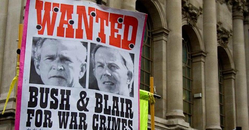 Tony Blair Heading for Handcuffs and a War Crimes Indictment? Bush_blair_0