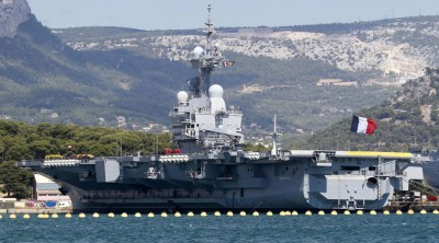 The French nuclear-powered aircraft carrier Charles de Gaulle. © Reuters