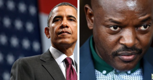 Obama Singles Out Burundi, amidst African Presidential Succession Struggles