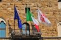 Palazzo-Vecchio-Bandiere