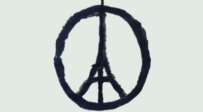 """""""Peace for Paris"""" by Jean Jullien"""