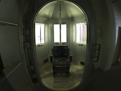 The former gas chamber at New Mexico State Penitentiary, used only once in 1960 and later replaced by lethal injection. Photo by Shelka04 (CC BY 3.0)