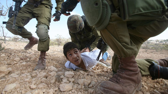 Israel's Military Detention of Palestinian Children. Motion against Israel in Britain's Parliament
