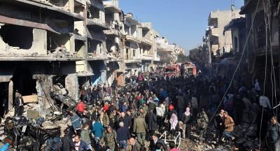 car bomb Syria Hom, © AFP 2015/ STR