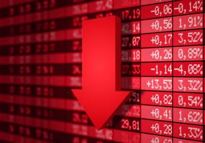 Chute marchés