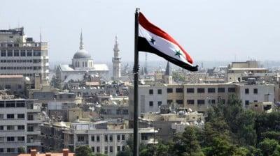 Syrie Damas drapeau