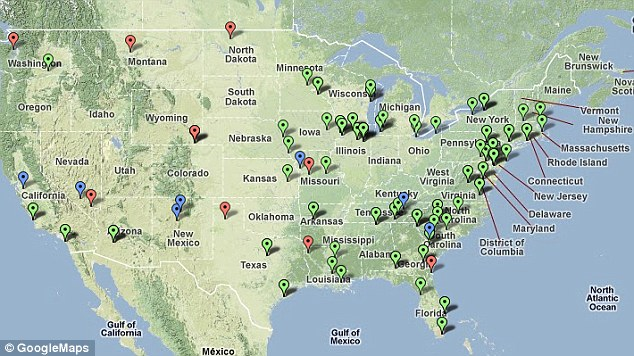 No Danger Of Nuclear War The Pentagons Plan To Blow Up The Planet - Map of us nuclear sites
