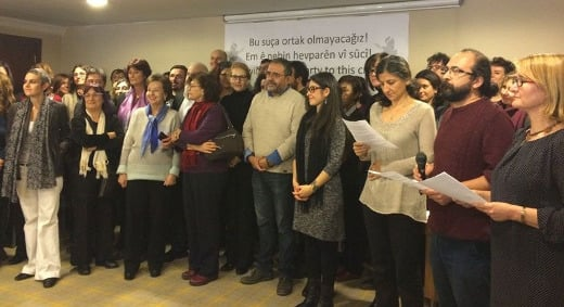 Press Release of the petition of Academicians for Peace, Istanbul, 12 January.