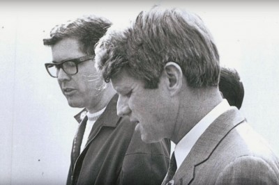 Robert F. Kennedy and Paul Schrade Photo credit: MALDEF / YouTube