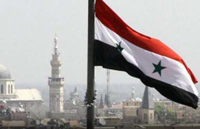 Syrie drapeau