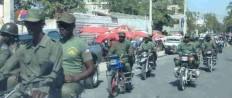 motocycle militia haiti