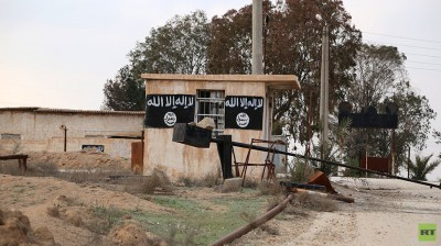 Abandoned buildings used by ISIS militants in northern Syria. / RT