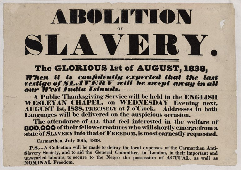 essay on the abolition of the slave trade