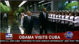 Bill O'Reilly on Obama's trip to Cuba: He shouldn't have gone.