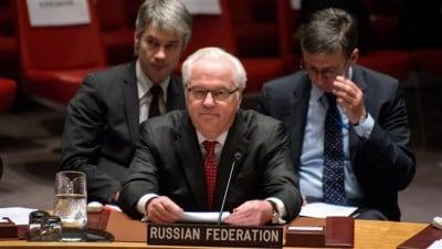 Russian Ambassador to the United Nations (UN) Vitaly Churkin