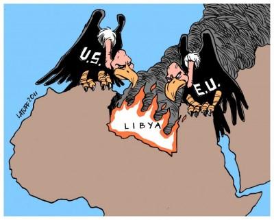 Libye prédateurs