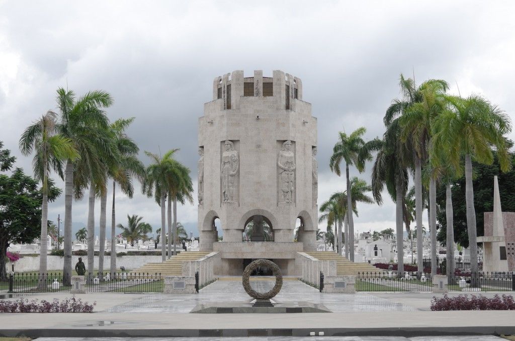 Mausoleum of Jose Marti in Santiago de Cuba