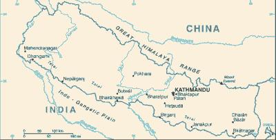 Nepal-CIA_WFB_Map