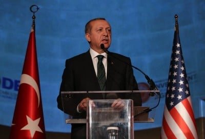 Turkish President Erdogan in USA