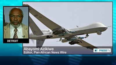 a Abayomi Azikiwe with warplane