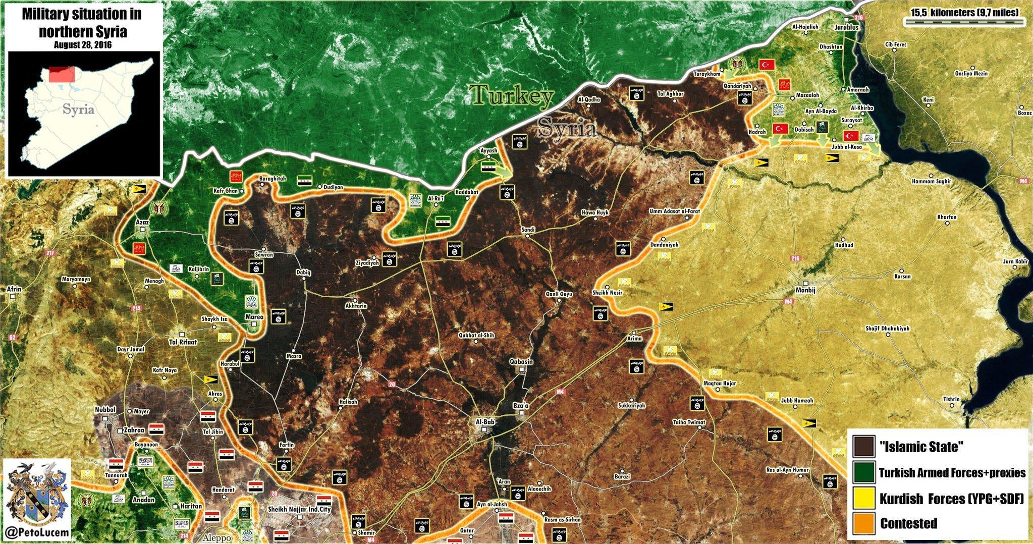 US-NATO-Turkey Invasion of Northern Syria: CIA \